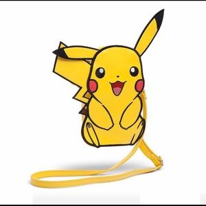 Pikachu Crossbody Bag Vegan Leather Pokémon